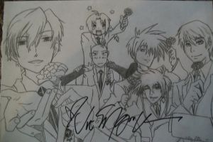 Vic Mignogna's Personal Requested Artwork by animenerd22