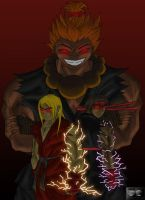If Akuma Was Our Master by Flo-Jitz