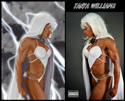 Tanya Williams IS Storm By Ulics by zenx007