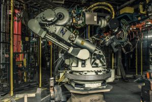 Robot Arm Frontlit by 5isalive
