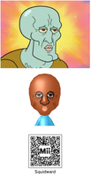 Handsome Squidward by Petah-Petah