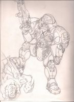 Starcraft Space Marine by LostHelix119