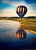 View from a Hot Air Balloon by Blue-Clouds