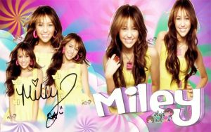 MILEY CYRUS BY ALE by DDLoveEditions