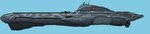 Submarine Aircraft Carrier by PrinzEugn
