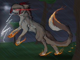 CM: fire and rain by BlackBloodX