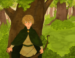 Hetalia | In the forest by Lazorite
