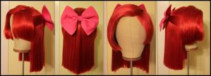 Apple Bloom Wig 2 Commission Complete by Miss-Star-Bucket