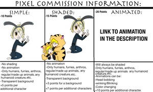 Pixel Commission Information (read description) by The-Insane-Puppeteer