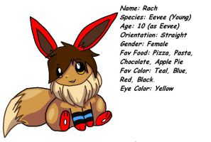 Eevee Rach Ref by SnugglePuffs