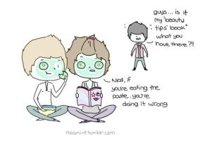One Direction - Niall/Harry/Zayn by milamint