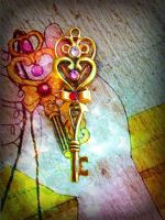 Rini's Time Key Commission by ArtByStarlaMoore