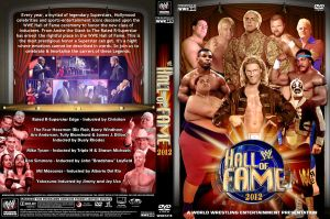 WWE Hall of Fame 2012 DVD Cover by Chirantha