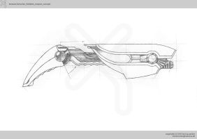 kenauer/antarian_foldable_weapon_concept by xistenceimaginations