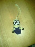 Knitted Minion  by Princess4ever01