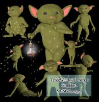 TW3D The Gobble Goblins by TW3DSTOCK