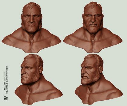 Brute zbrush sketch by mojette