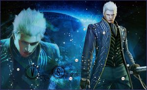 Vergil Sparda Wallpaper by MaryLander97