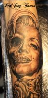 Grahams Tattoo by Reddogtattoo