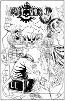 DEMON KINGS i3 COVER (inks) by theCEOofDEATH