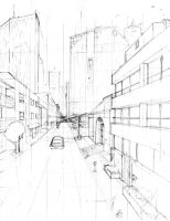 perspective+buildings practice by cocokat
