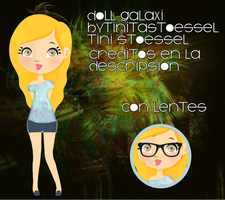 Galaxi doll (con Lentes) by bytinistoessel