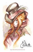 Watercolor Hatter by eikomakimachi
