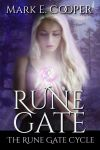 Book cover - Rune Gate by Mark E. Cooper by CathleenTarawhiti