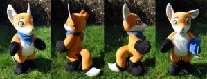 Commission Plush Fantox by Sethaa