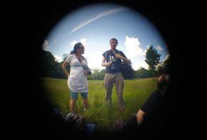 Trying out fisheye lense 1 by Quoth-Raven