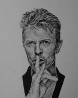 David Bowie by Aumael