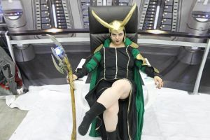 Loki cosplay by Zani-alone
