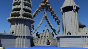 Castle Gates by strawberryminecraft