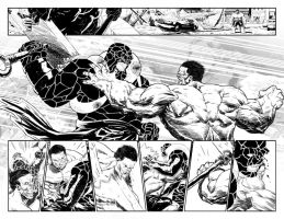 Hulk 42 Double Splash Page by elena-casagrande