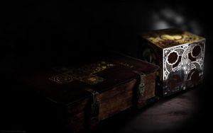 Eucharist and The Book by steelgohst