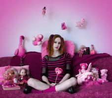 The world of my Pinkness by AlexisPhotoart