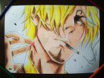 Sanji (one piece) by vitorsantos18