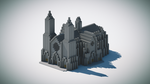 Catedral Minecraft isometrico by andrei030