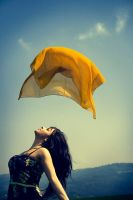 Yellow wind by Silecia
