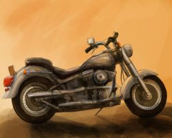 Motorcycle by kaolinite