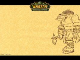 Tauren Walpaper by alienspawn87