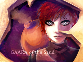 Gaara by GlassPanda