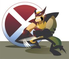 Wolverine for fun by makampo