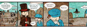 Layton is a prick by archivalcarnival