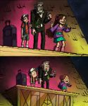 Gravity Falls screenshot redraw by LilyScribbles