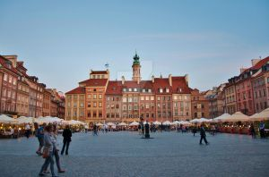 Warsaw Old Town by JSiwinska