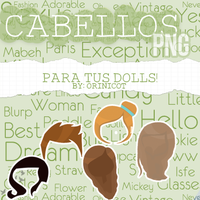 Cabellos png By Orinicot by OriNicot