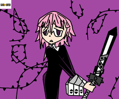 Crona on paint by taytay128
