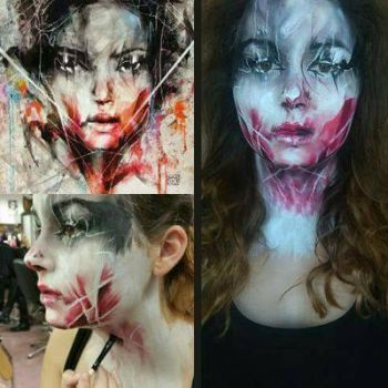Living Painting by ArtdancerMake-up