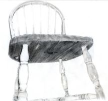 Summer - Kitchen Chair by BJSparky